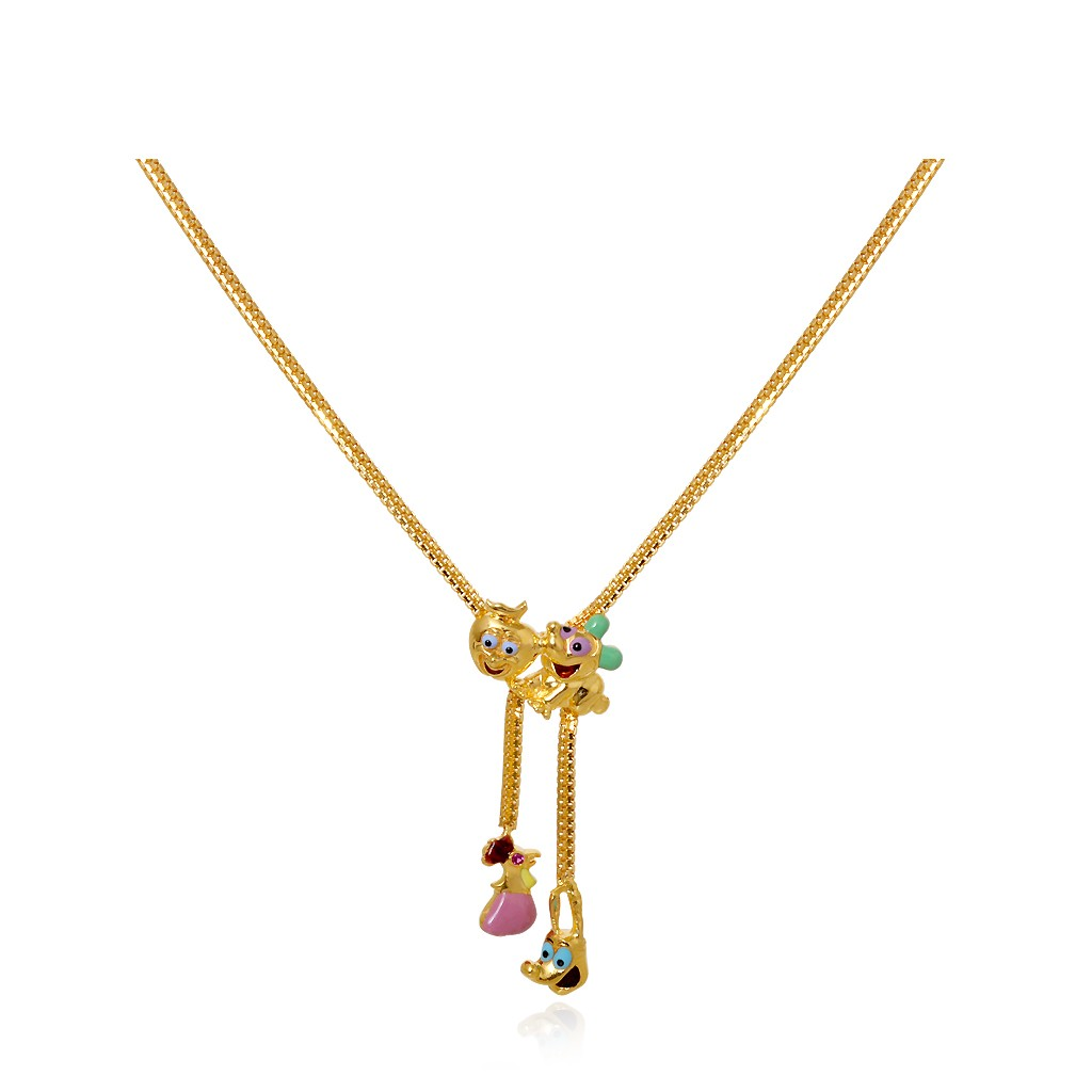welcome com crazy child gold chain chains kids collections to chennaijeweller female