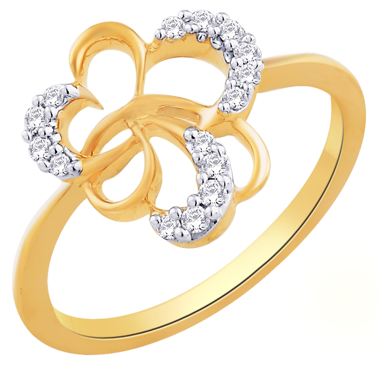yellow ring promise product heart gold shaped jewellers set moss rings ben jewellery diamond